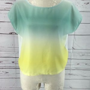 Gibson LaTimer spring colored blouse top